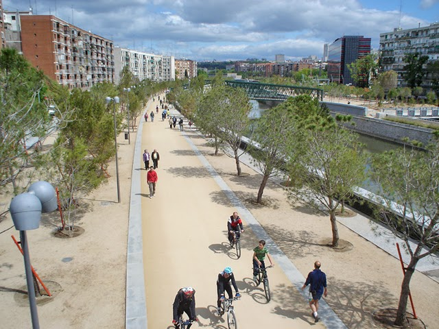 El fin de las obras de Madrid Río