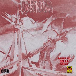 Decorado con clavos Transmetal_-_Muerto_En_La_Cruz__-_Front