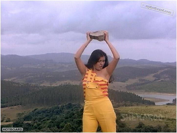 Zeenat aman boob show did