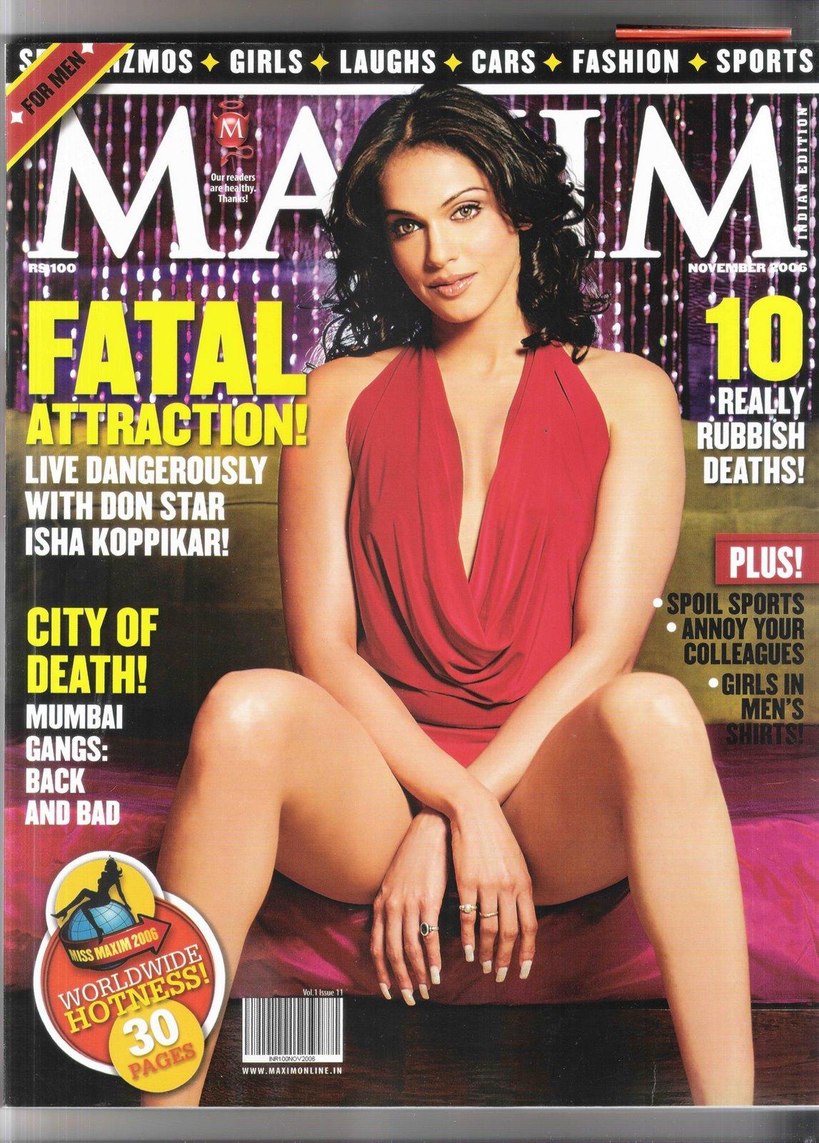who looks best on Maxim Cover?Katrina Wo