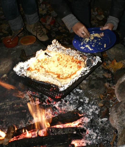 Pizzalicious Campfire Pizza