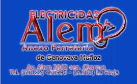 """Auspicia el CRISTO ARTE - Electricidad """"ALEM"""""""
