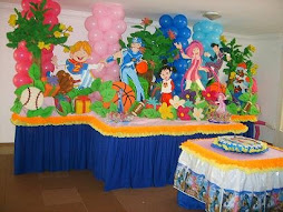 Decoracion Lazy Town