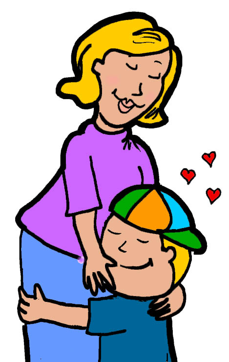 free clip art mother child - photo #44