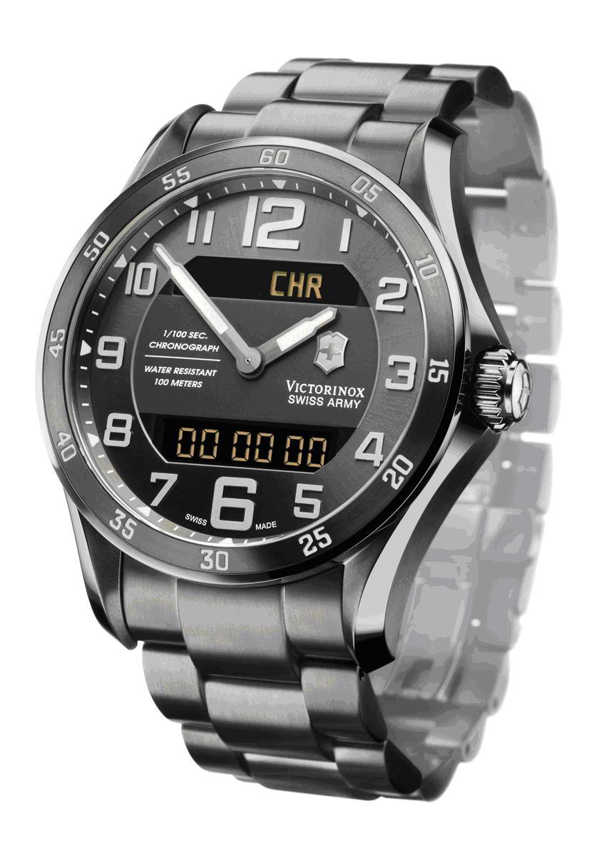 Dodane  type 23 quartz Victorinox+Swiss+Army+Chrono+Classic+XLS+MT+MultiTask+ETA+988.333