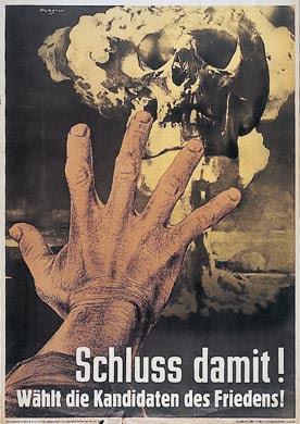 Angst vor dem Atomkrieg, DDR, 1954