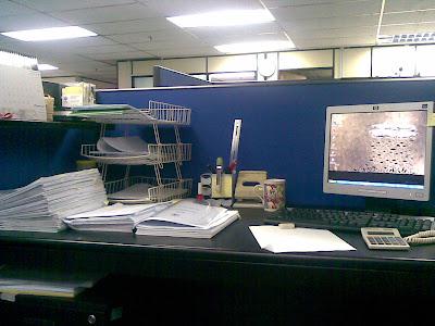 meja saya..