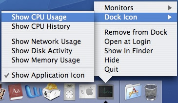 A New Mac Tip Every Day: Activity monitor in your Dock!