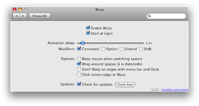 A New Mac Tip Every Day: Switching Spaces with the mouse!