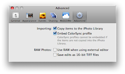 New mac tip every day editing raw in iphoto