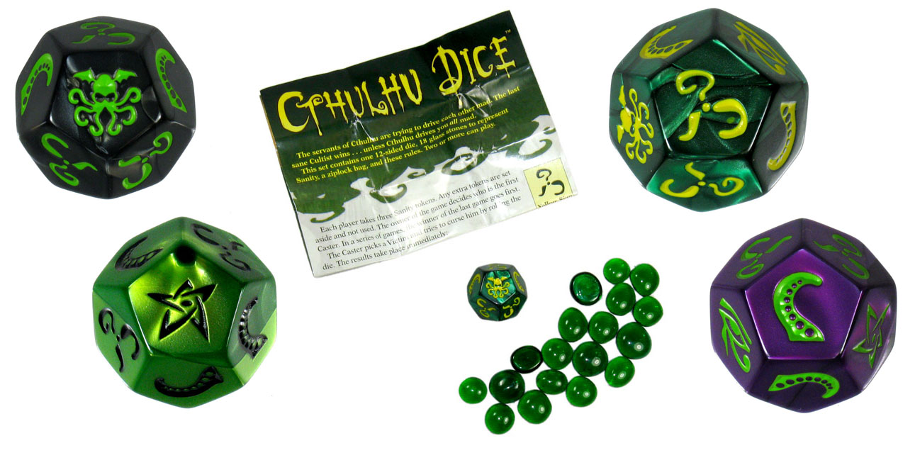 Howling Fun Games: Review - Cthulhu Dice
