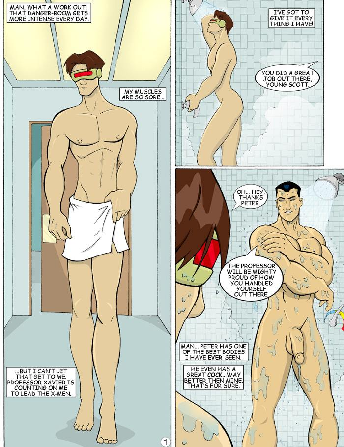 Comic porno gay xmen