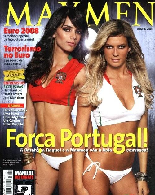 Sarah Nordin Amp Raquel Ferreria Revista Maxmen