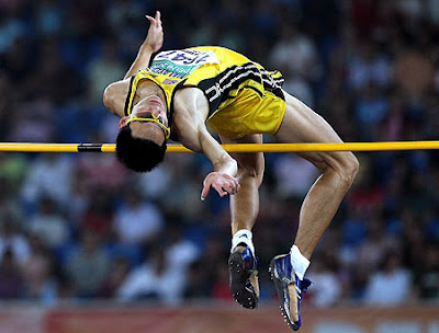 Atletik Lompat Tinggi Gaya Flop