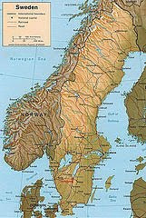 map scandanavia, map norway sweden