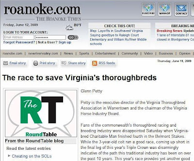 AS NOT EXPECTED: A FRIDAY THANK YOU | Virginia Thoroughbred