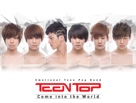 KPOP and JPOP: Introducing Teen Top, the newest boy group