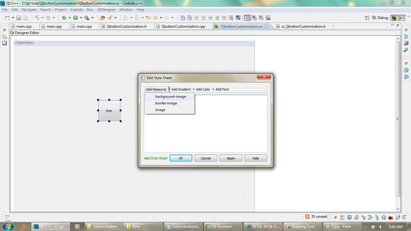 Qt Articles:Qt sample codes,Qt programming: How to add