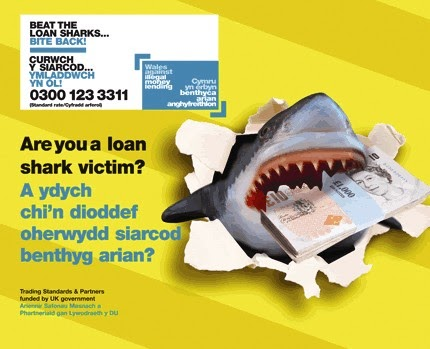 Cardiff Living: STUDENTS WARNED NOT TO TURN TO LOAN SHARKS - DON'T GET BITTEN