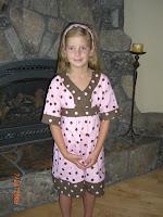 Peyton's New Dress