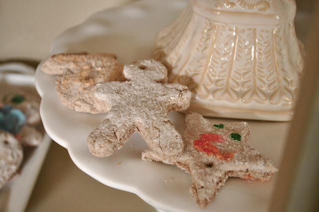 Make faux salt dough cookies