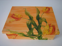 TULIPANES EN DECOUPAGE