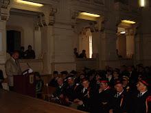 ceremonia decernarii titlului de DHC  prof T.M BAJENESCU