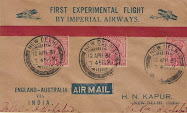 Imperial Airways First Experimental flight