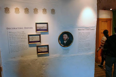 The exhibition inside Dover Castle extolling the interior decorators of medieval times.jpg