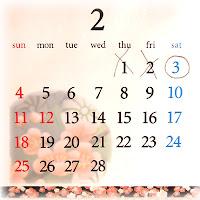 February 3rd(mikka)