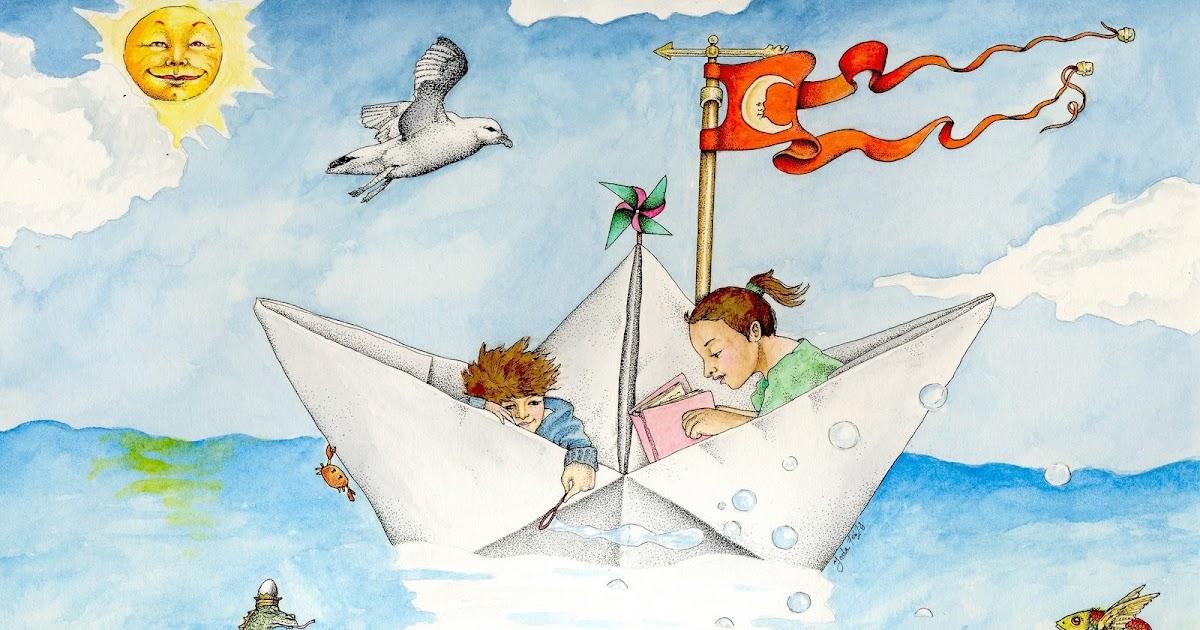 Картинка корабль детства