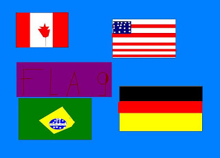 flags: Canada, US, Brazil, Germany