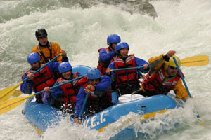 California Rafting picture