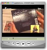 Expresso distribui áudiolivros (vídeo, formato .mov)