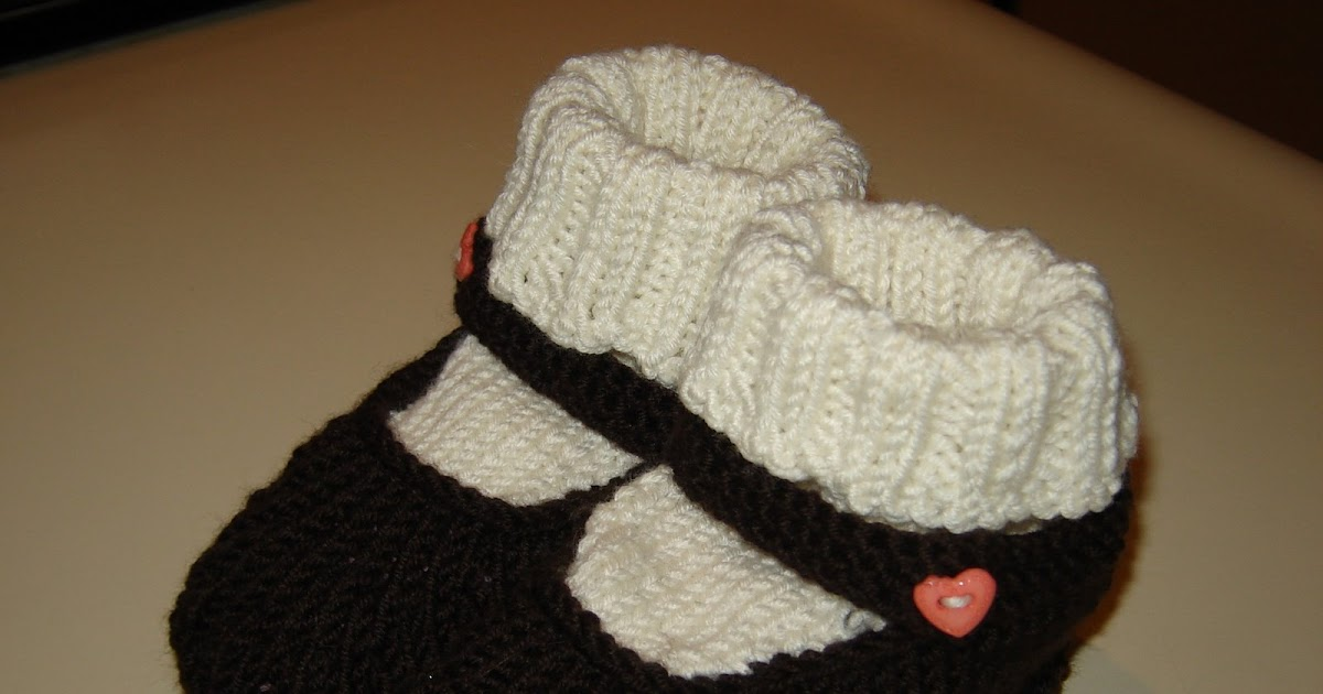 Picking Up Stitches In Knitting Socks : knitless to life: Baby Mary Janes