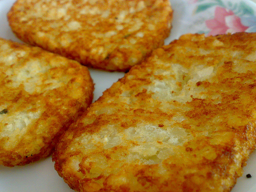 Foodies!!!: Cheese Omelette with Hash Browns