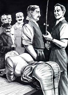 Martins erster povoll spanking