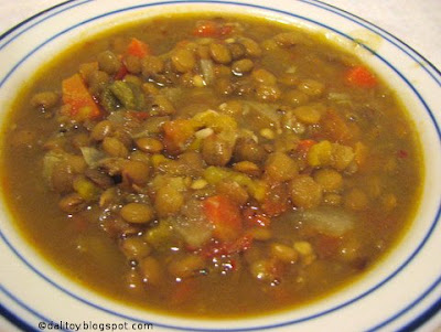 Dalitoy: Moroccan Lentil Soup to start the New Year 2007