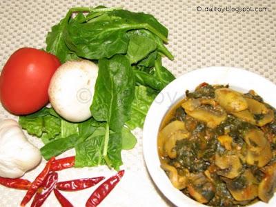 Mushroom & Spinach Song