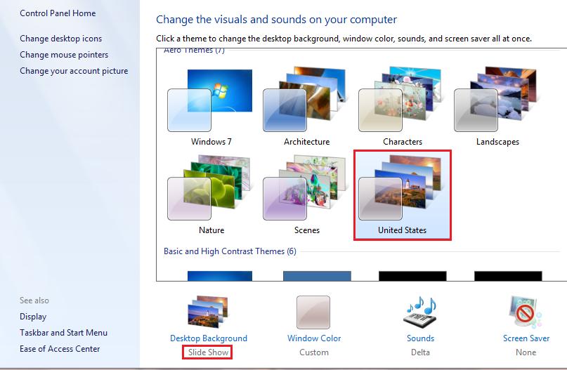 807x527px Windows 10 Background Wallpaper Slideshow