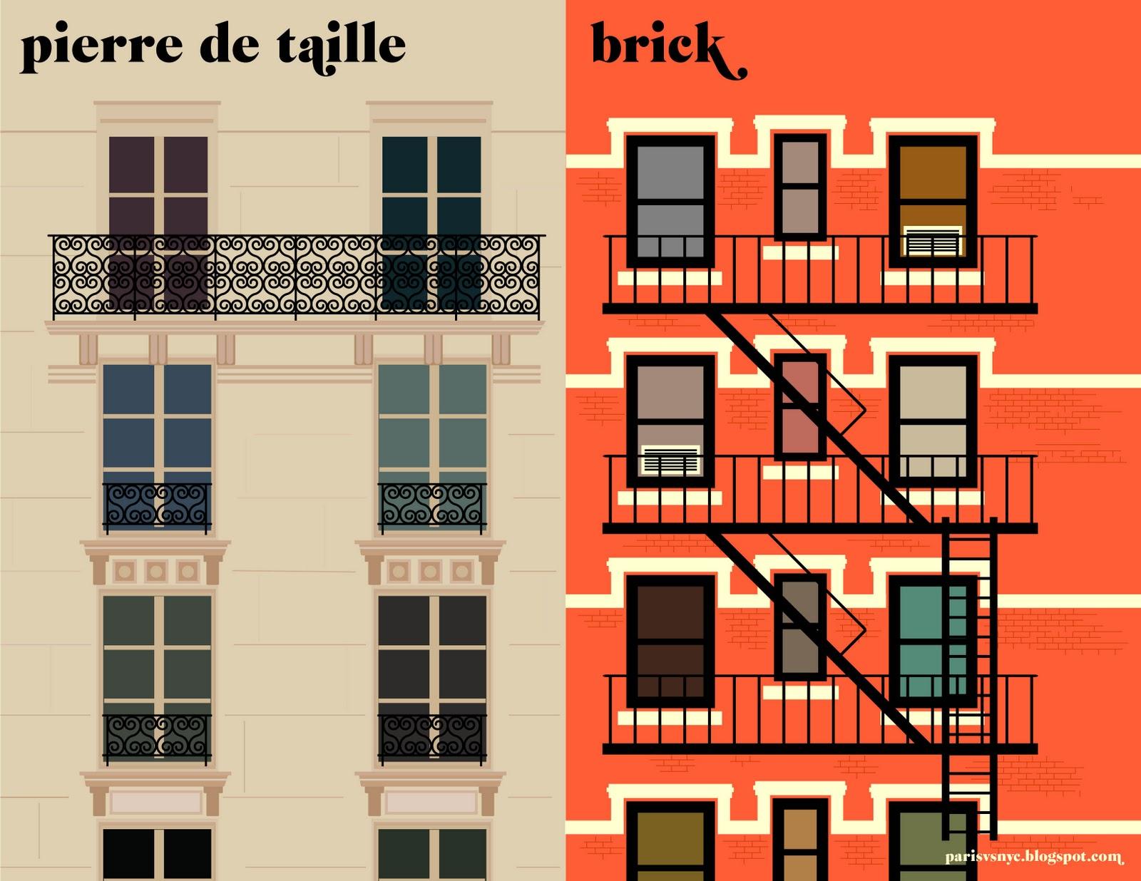 Pierre de Taille vs Brick