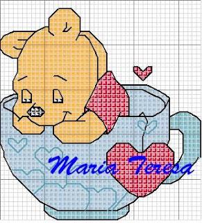 Amorevitacrocette winnie the pooh pimpi for Winnie the pooh punto croce schemi