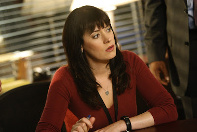 paget brewster short hair