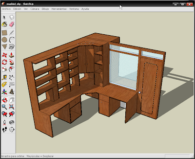 Google sketchup te animas taringa for Programa diseno muebles