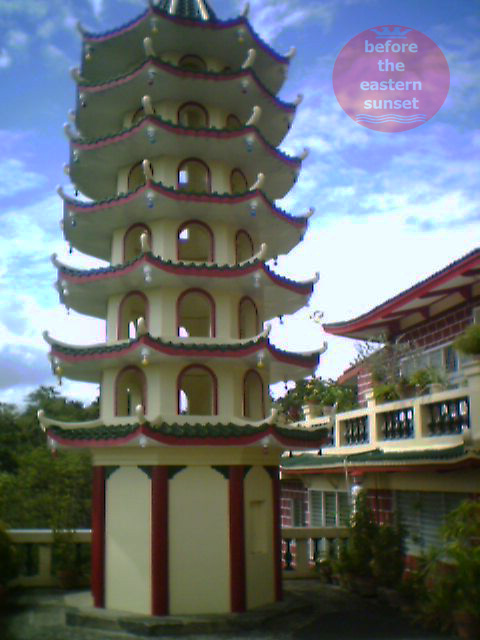 Pagoda in Cebu Taoist Temple