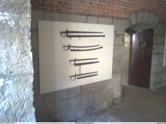 Samurai swords in Intramuros