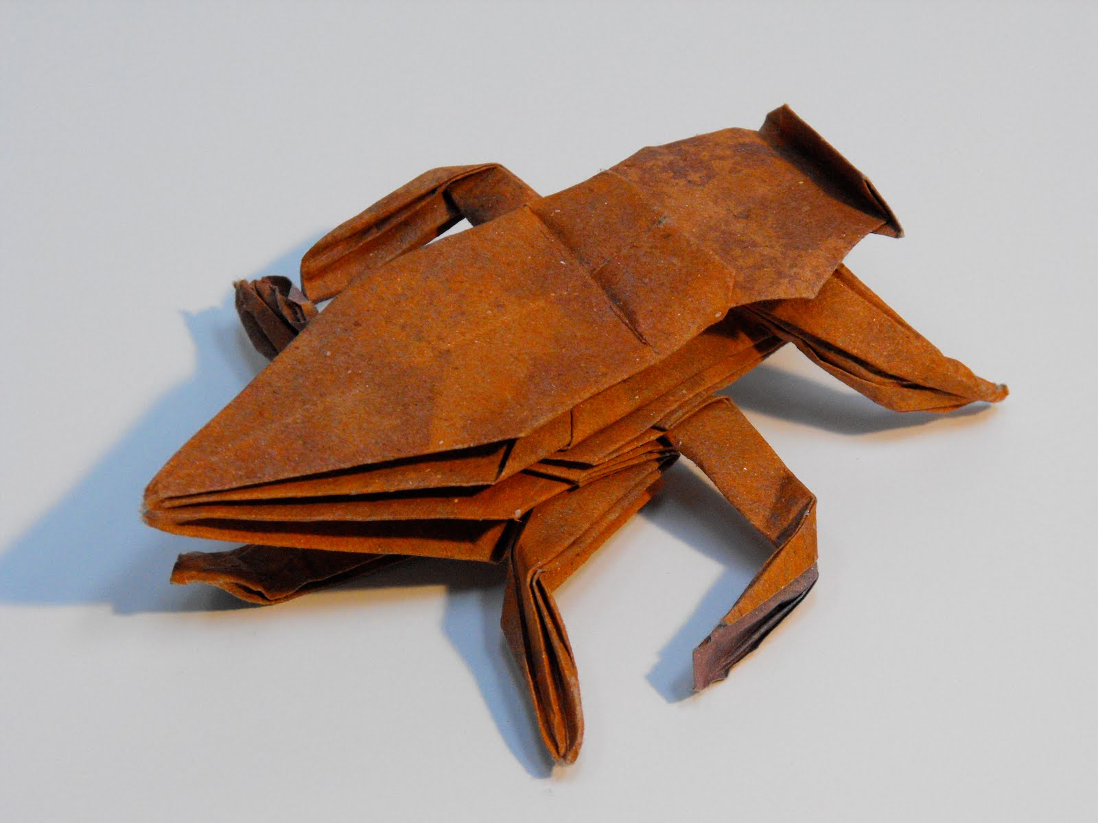 origami gissendanner: Origami Insects and Such - photo#14
