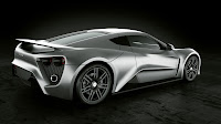Zenvo ST1 2010 Supercar back side