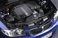 BMW 135i Convertible engine