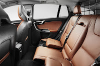 The new Volvo V60 sports wagon back interior